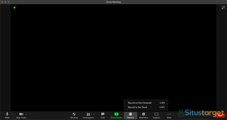 Cara merekam meeting zoom di cloud maupun di komputer lokal